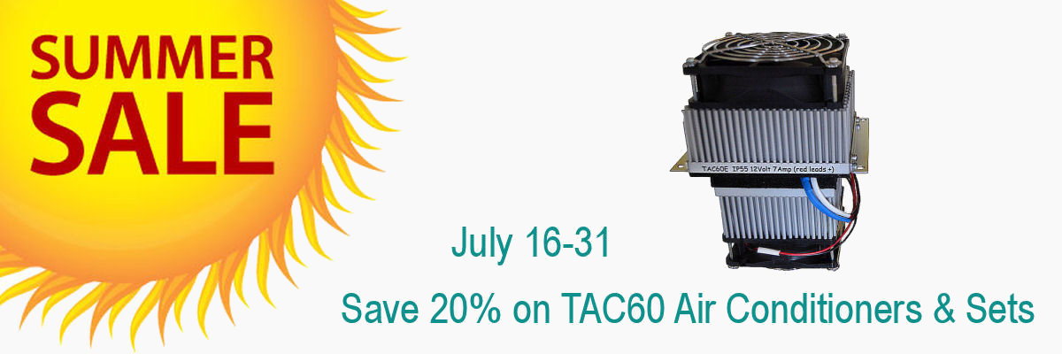 Great Summer Savings on all TAC60 Air Conditioners & Sets.